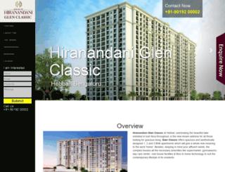 hiranandaniglenclassic.call-now.co.in screenshot