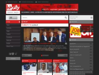 hircity.hu screenshot