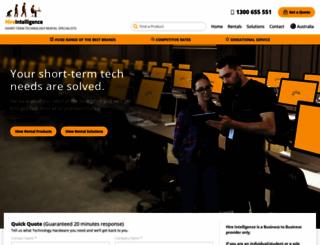hire-intelligence.com.au screenshot