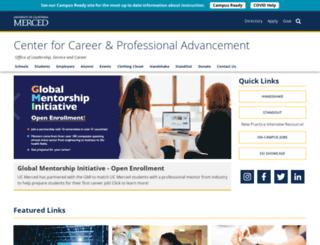 hire.ucmerced.edu screenshot