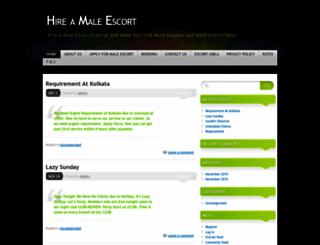 hireamale.wordpress.com screenshot
