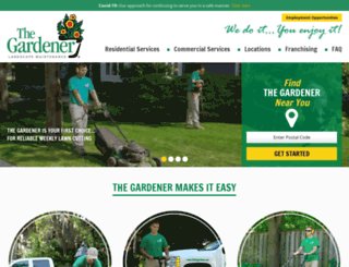 hirethegardener.com screenshot