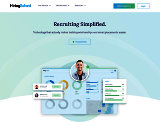 hiringsolved.com screenshot