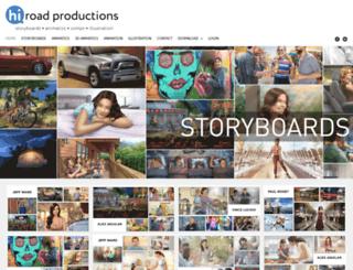 hiroadproductions.com screenshot