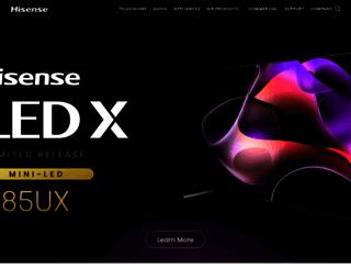 hisense-usa.com screenshot