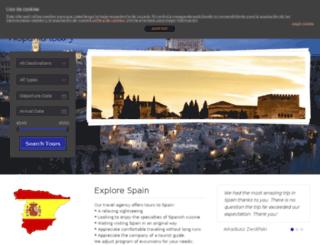 hispaniatours.pl screenshot