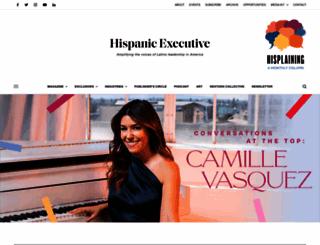 hispanicexecutive.com screenshot