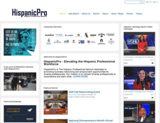 hispanicpro.com screenshot