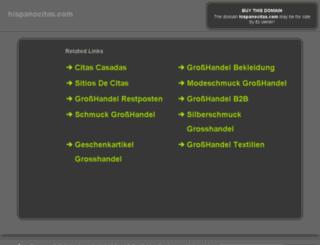 hispanocitas.com screenshot