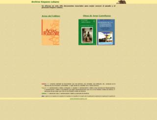 hispanocubano.org screenshot