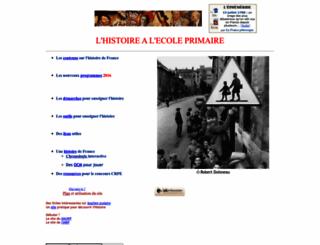 histoireenprimaire.free.fr screenshot