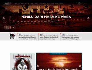 historia.id screenshot