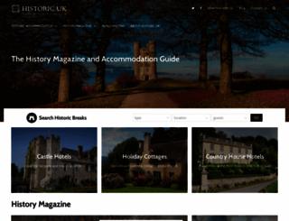historic-uk.com screenshot