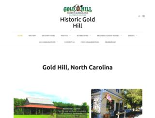 historicgoldhill.com screenshot