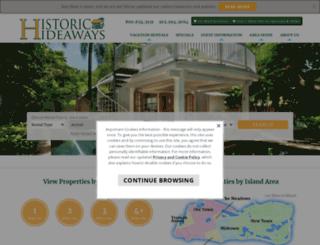 historichideaways.com screenshot