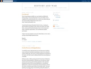 historyandwar.blogspot.com screenshot