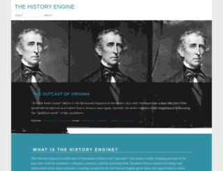 historyengine.richmond.edu screenshot