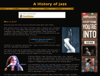 historyjazz.com screenshot
