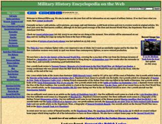 historyofwar.org screenshot