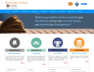 historytuition.com screenshot
