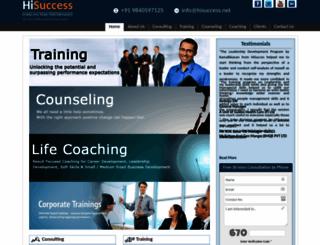 hisuccess.net screenshot