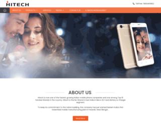 hitech-mobiles.com screenshot