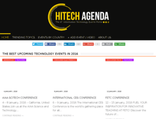 hitechagenda.com screenshot