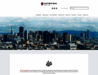 hitecsa.com screenshot
