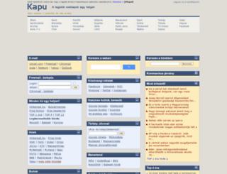 hitel.kapu.hu screenshot