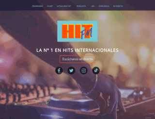 hitfm.es screenshot