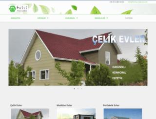 hititprefabrik.com.tr screenshot
