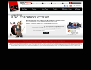 hits.nrj-mobile.fr screenshot