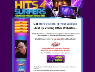 hits4surfers.com screenshot