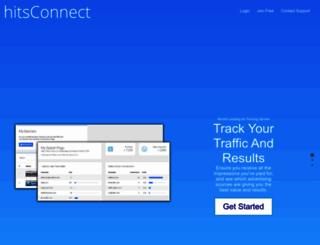 hitsconnect.com screenshot