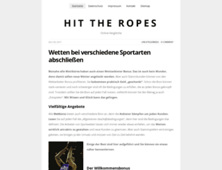 hittheropes.com screenshot