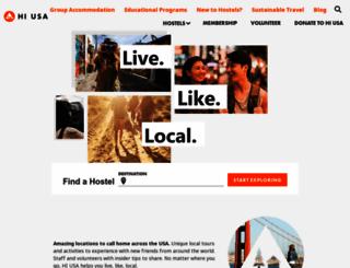 hiusa.org screenshot