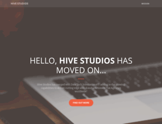 hive-studios.com screenshot
