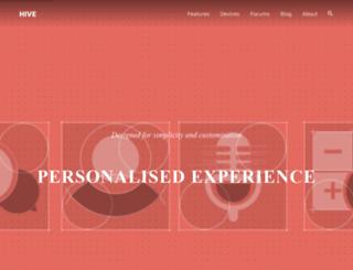 hiveinside.com screenshot