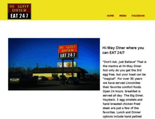 hiwaydiner.com screenshot