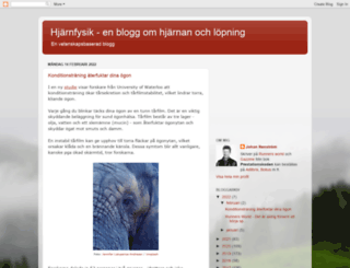 hjarnfysik.blogspot.se screenshot