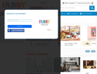 hk.fabbypromotions.com screenshot
