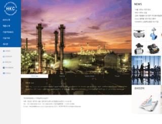 hkcon.co.kr screenshot