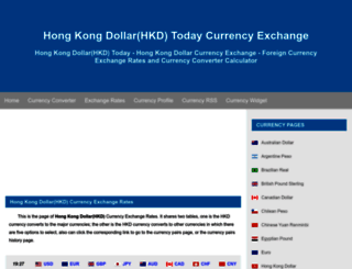 hkd.fx-exchange.com screenshot