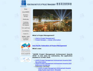 hkipm.org.hk screenshot