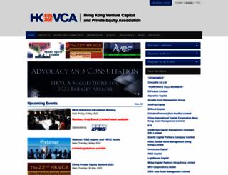 hkvca.com.hk screenshot