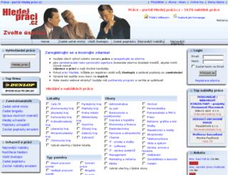 hledejpraci.cz screenshot