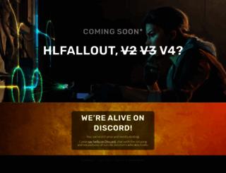 hlfallout.net screenshot