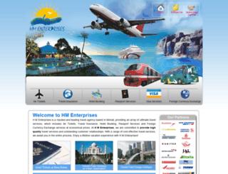 hmenterprises.co.in screenshot