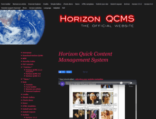 hnqcms.com screenshot