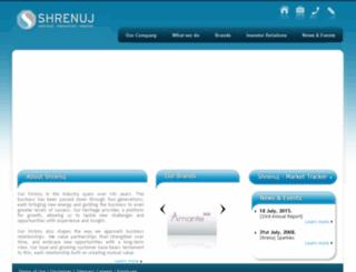 ho.shrenuj.com screenshot